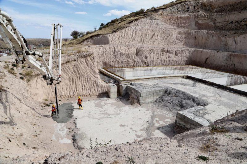 Nevşehir'in Su Sorununu Çözecek Proje İçin Yeni Su Depolarının Temeli Atıldı
