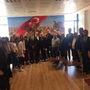 Alman Hukukçular Nevşehir Barosundaydı