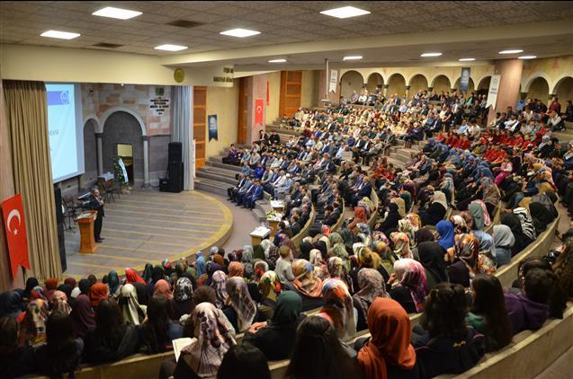 Cami ve hayat konulu konferans düzenlendi