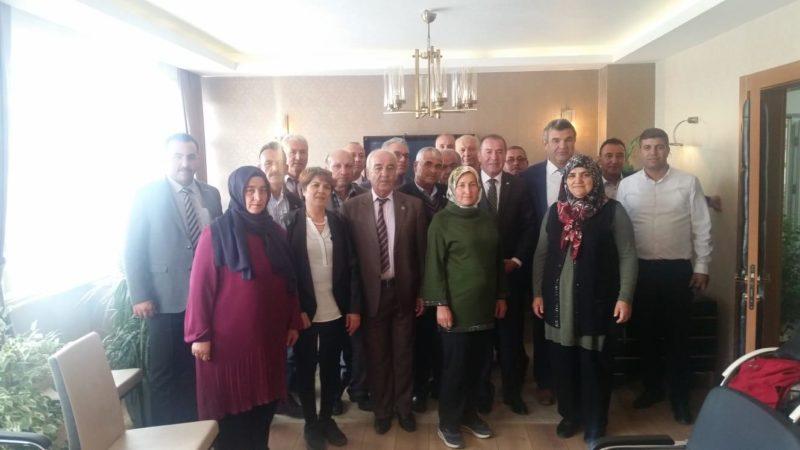 İYİ Parti Ürgüp teşkilatından Ödemiş'e ziyaret