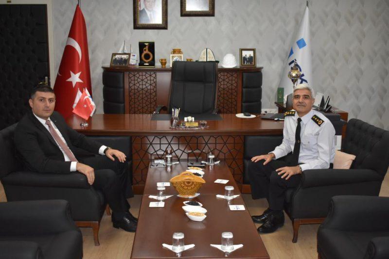 İl Jandarma Komutanı Erol'dan İŞKUR'a Ziyaret