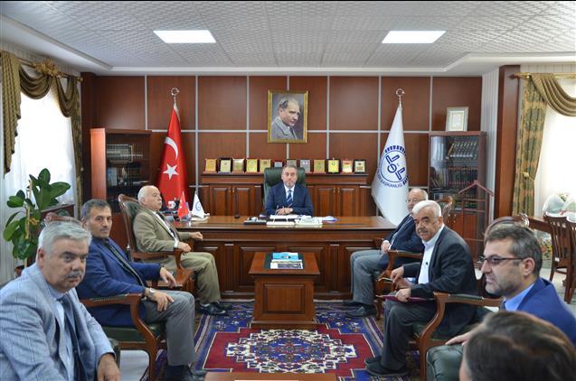 Müftü Öztürk'e camiler ve din görevlileri haftası ziyareti