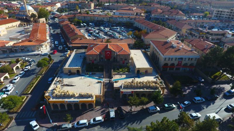Ürgüp Belediye hizmet binası yenileniyor