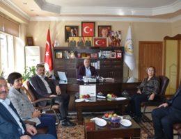 Başkan Eren'e anlamlı ziyaret