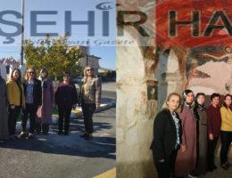 MHP'li kadınlardan Kavak ve Tatlarin ziyareti
