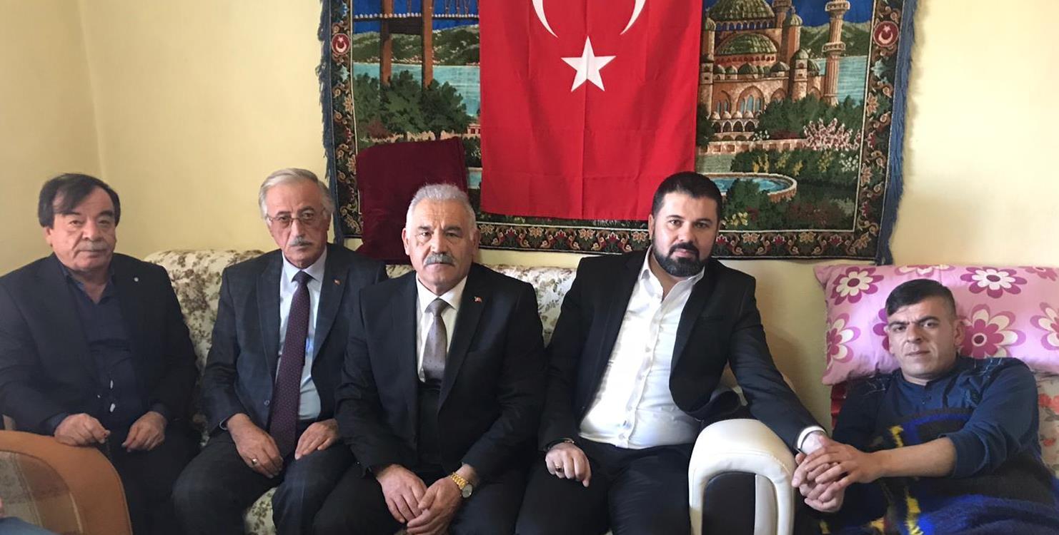 Birlik Başkanı Pınarbaşı'dan İdlib gazisine ziyaret