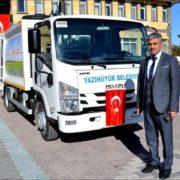 Yazıhüyük belediyesi araç filosunu genişletiyor