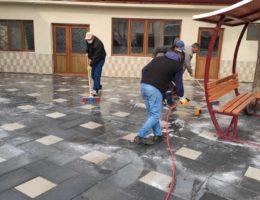 Karapınar'da Cuma temizliği