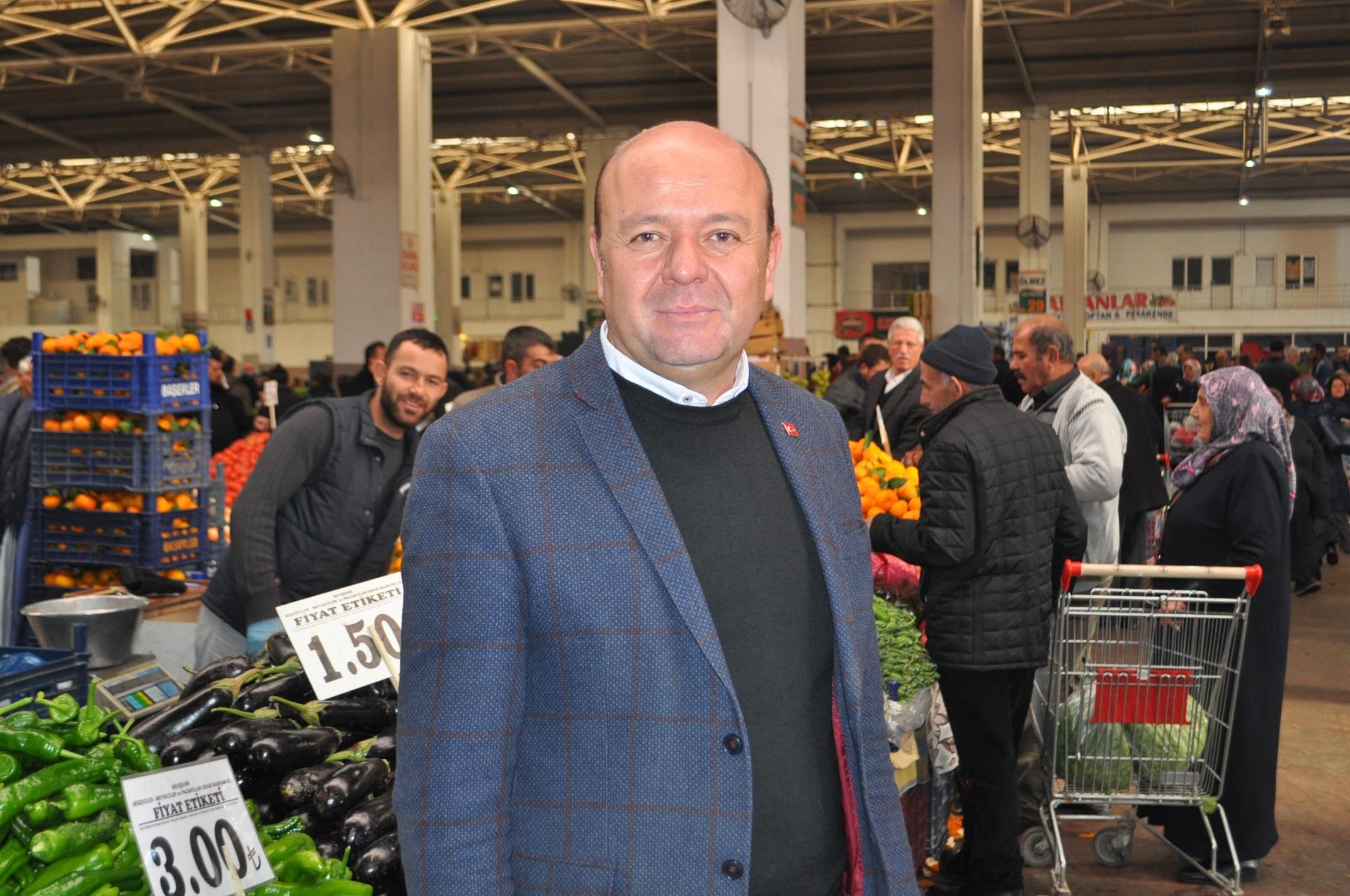 Nevşehir kapalı pazaryeri eski yerine taşınıyor