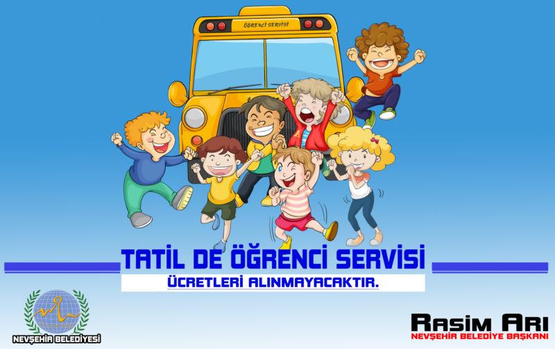 Öğrenci Servisleri Tatilde Ücret Almayacak