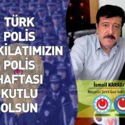 Karabıyık Polis Haftasını Kutladı.