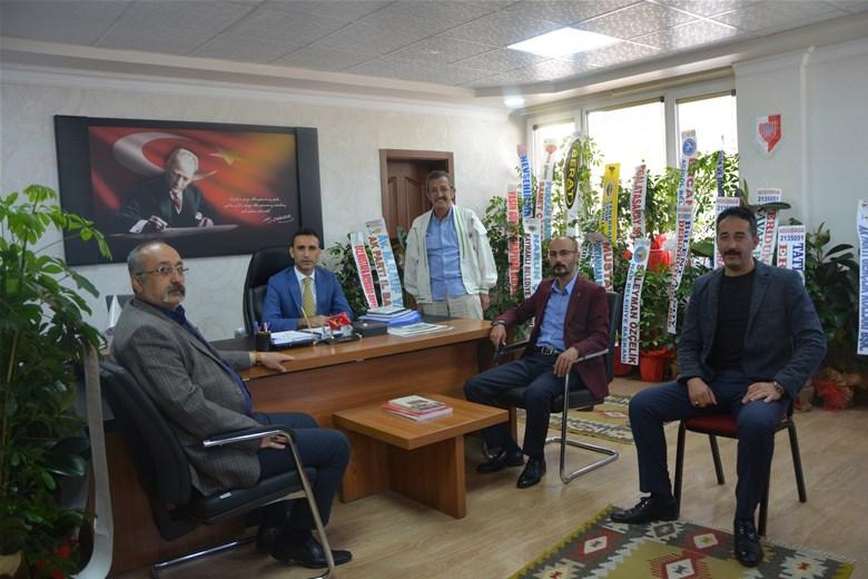 MHP Merkez ilçe başkanından Özdemir'e ziyaret