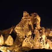 Uçhisar Kalesi yeniden ziyarete açıldı