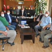 Ziraat odasında yönetim kurulu toplantısı yapıldı