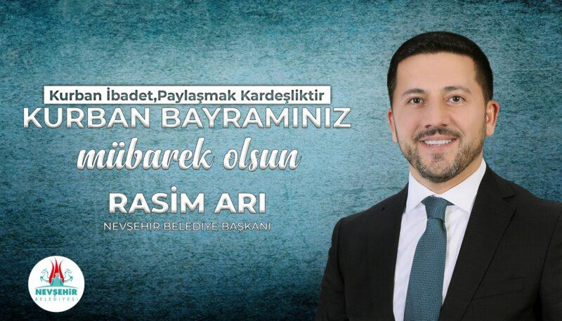 Belediye Başkanı Rasim Arı Kurban Bayramı'nı Kutladı