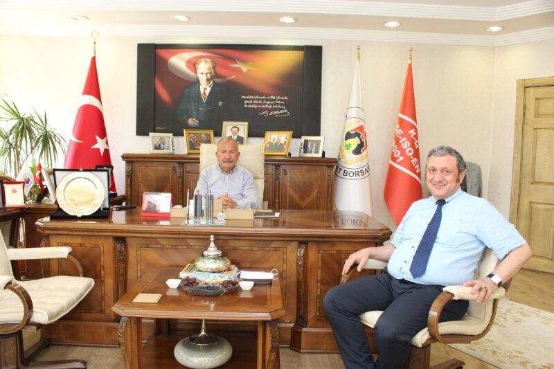 TÜİK Nevşehir Bölge Müdürü Şahin, Başkan Salaş'ı Ziyaret Etti