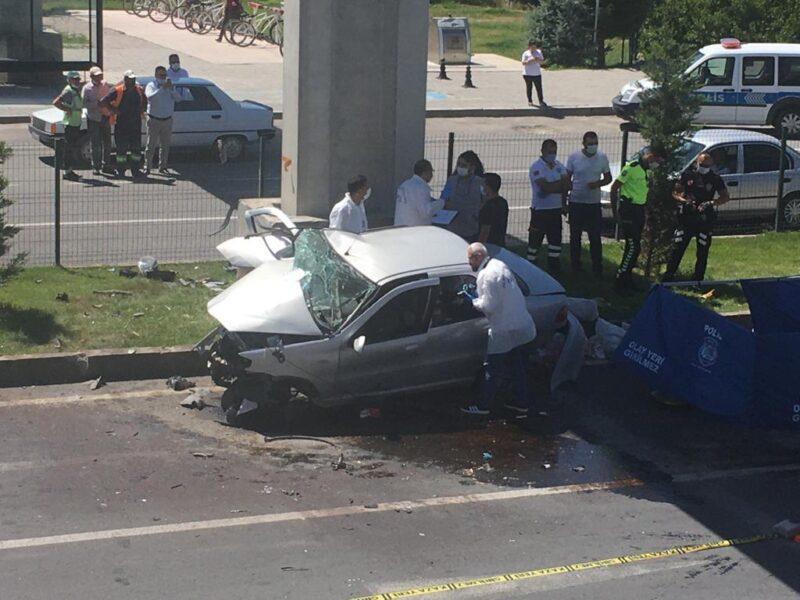 Nevşehir'de ölümlü trafik kazası