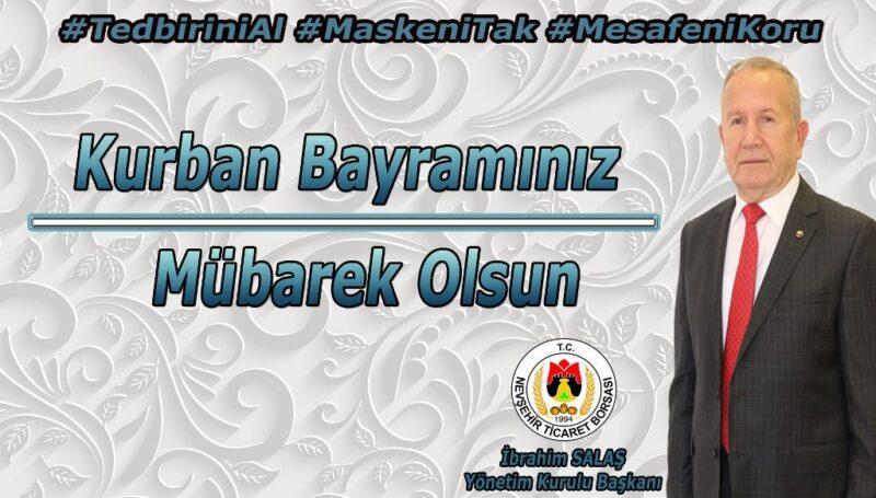 Başkan İbrahim Salaş'tan Kurban Bayramı mesajı