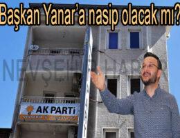 Başkan Yanar'a nasip olacak mı?