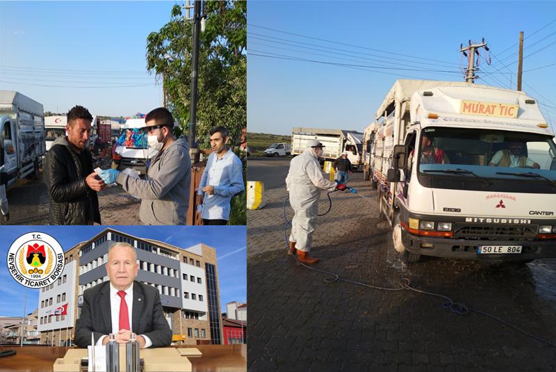 Başkan Salaş, Nevşehir' li vatandaşları uyardı!