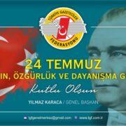 """TGF, 24 Temmuz """"Basın Özgürlük ve Dayanışma Günü"""" olarak kutlanmalı"""