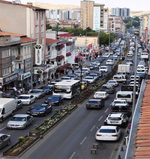 Şehir içi trafik köklü çözüm bekliyor