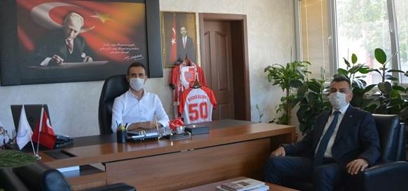 Eczacılar Odası başkanından Özdemir'e ziyaret