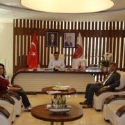 Ertaş' tan NEVÜ Rektörü Aytekin'e Ziyaret