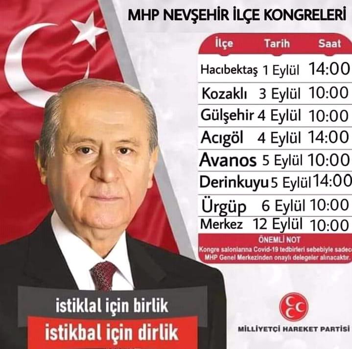 MHP'de ilçe kongreleri başlıyor