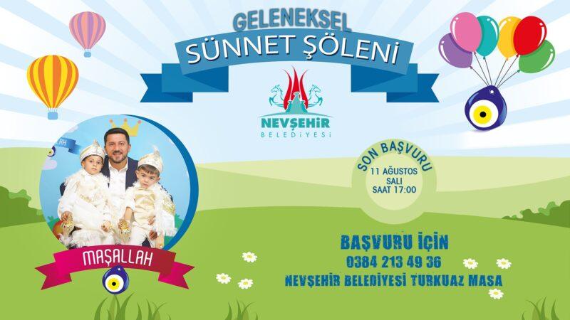 Nevşehir Belediyesi Elli Çocuğu Sünnet Ettiriyor