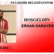 Erhan Karayer Nevşehir Belediyespor'da