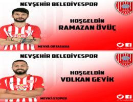 Nevşehir Belediyespor Genç ve Dinamik Bir Kadro Kuruyor