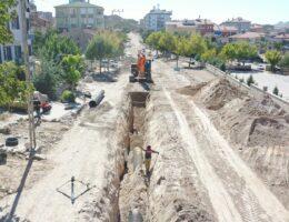 Nevşehir Belediyesi 30 Yıllık Altyapı Sil Baştan Yeniliyor