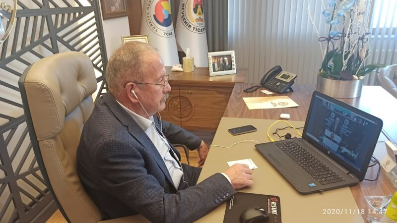 Başkan Salaş, TOBB Ekonomi Şurası'na Katıldı