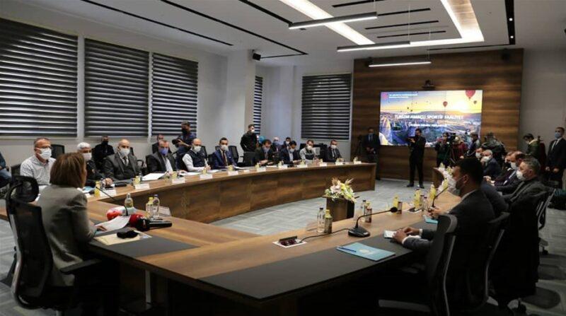 Turizm amaçlı sportif faaliyetler toplantısı düzenlendi.
