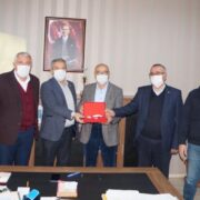 Başkanlardan Özdemir'e hayırlı olsun ziyareti