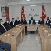 AK Partiden MHP'ye tam kadro ziyaret