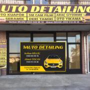 AUTO DETAİLİNG açıldı