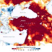 NASA'dan Türkiye Kuraklık Uyarısı