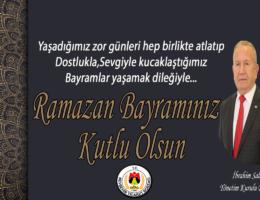 Başkan Salaş, Ramazan Bayramını kutladı